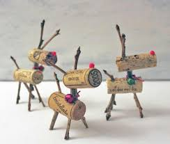 wine cork reindeer the exclusive llc shopping