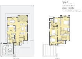3 Bedroom Villa Floor Plans by Villanova Phase 2 La Quinta 3 Bedrooms 4 Bedrooms 5 Bedrooms