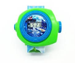 1pcs 3d cartoon pjmasks student watches kids projection watch