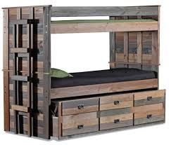 Morgan Creek Extra Long Combo Bunk Bed Rustic Bunk Beds By - Extra long bunk bed