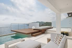 contemporary houses cool balcony at contemporary house with stunning views of the sea