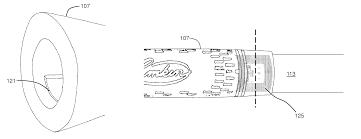 brevet us8517850 golf club grip with device housing google brevets