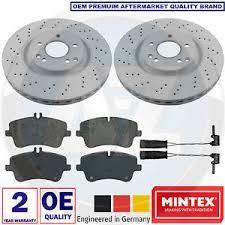 mercedes c class brake discs for mercedes c class w203 front mintex drilled vented brake discs