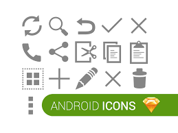android icons for sketch 3 sketchapp by tristan remy dribbble