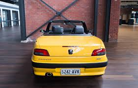 peugeot yellow 2001 peugeot 306 cabriolet for sale richmonds classic u0026 sports cars