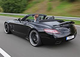 mercedes sls amg convertible vath merecedes sls amg roadster is supercharged and black