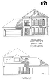 4 Bedroom 2 Bath House Plans 2530 0406 Square Feet 4 Bedroom 2 Story House Plan