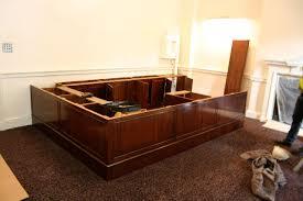 Bespoke Reception Desk Bespoke Reception Desks From The Desk Centre