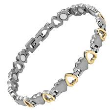 magnetic bracelet tool images Willis judd new ladies love heart design titanium magnetic jpg