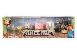minecraft motorcycle amazon com minecraft animal toy 6 pack toys u0026 games