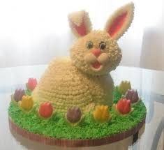 Easter Cake Decorating Ideas Pinterest by 10 Best Rabbit Cake Images On Pinterest Rabbit Cake Bunny Cakes