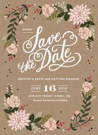 online save the date cards cottage florals floral wreath florals and wedding