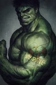 hulk for fun by artgerm on deviantart