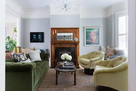 Rooms Viewer HGTV - Hunter green leather sofa