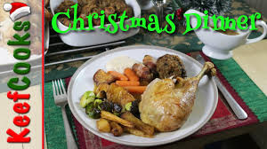 british christmas dinner traditional recipe youtube