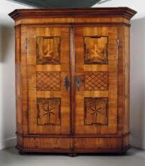 St James Armoire A Fine German Baroque Walnut Parquetry U0026 Marquetry Armoire