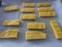 top cuisine du monde polenta sticks with parmesan cheese un petit oiseau dans la cuisine