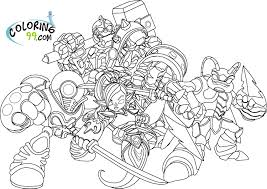 skylanders coloring pages fablesfromthefriends com