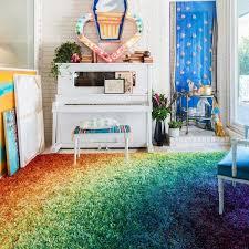 stella rainbow shag rug 5 u00272 x 7 u00277 free shipping today