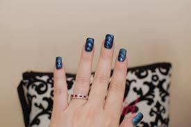 sally hansen metallic nail color in ionic indigo review photos