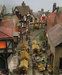 miniature miniatures houses villiage