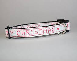 tuesday collar etsy christmas dog collar etsy