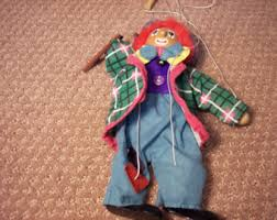 clown puppets for sale clown puppet etsy