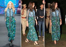 kate middleton dresses 11 times kate middleton proved fashion diplomacy in india