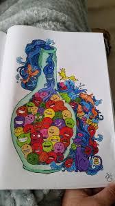 94 best color book doodle invasion images on pinterest coloring
