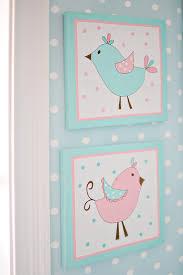 Pink And Aqua Crib Bedding Bird Nursery Wall Decor Pixie Baby In Aqua Crib Collection