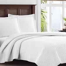 com tommy bahama white chevron quilt set king white home kitchen