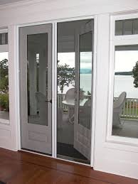 french doors with retractable screens