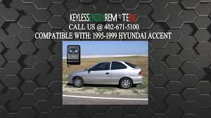 2001 hyundai accent battery how to replace hyundai accent key fob battery 1995 1996 1997 1998