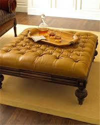 Large Tufted Leather Ottoman Beautiful Large Leather Ottoman Tufted Leather Ottoman Large