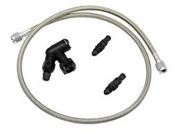2005 mustang clutch hydraulic clutch line and bleeder braided hose 2005 14 2015