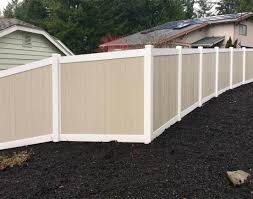 fearsome design of backyard fence line landscaping ideas glorious