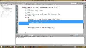 video format converter java reading from text files java methods and arrays youtube