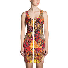 benin ornament sublimation cut sew dress ripped happiness