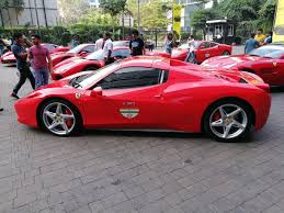 ferrari dealership inside 70th anniversary fleet of ferraris zips on mumbai u0027s roads