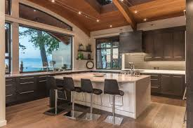 View Kitchen Designs by Design Charming California Laguna Beach View White Stained Wood