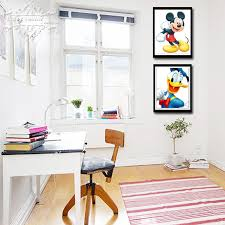 Mickey Home Decor Huacan Mosaic Mickey Mouse Embroidery 3d