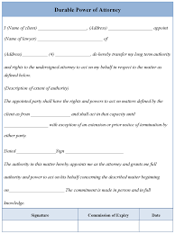 Personal Power Of Attorney Sample other template category page 129 urlspark com
