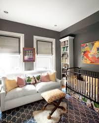 charcoal gray paint color contemporary nursery farrow u0026 ball
