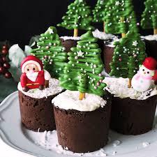 christmas tree chocolate muffins recipe tastemade