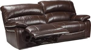 Chicago Reclining Leather Match Sofa Furniture Stores - Leather sofas chicago