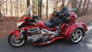 goldwing red motorcycles for sale
