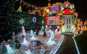 house christmas lights is this britain s most festive house 50 000 christmas lights