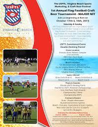 Va Flag Virginia Beach Flag Football Craft Beer Tournament Usftl