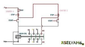 reversing contactor wiring diagram reversing soft starter wiring