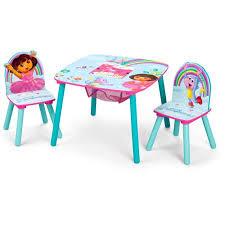 table and chair set walmart nickelodeon dora the explorer storage table and chairs set walmart com